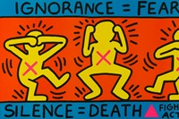 MKG_KeithHaring_Ignorance_Fear_Silence_Death_Fight 2