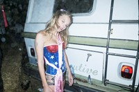 Great American Mud Wrestle LA Lotta Volkova Lily Rose Depp 7
