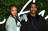 The 2019 Fashion Awards Rihanna and A$AP Rocky 0