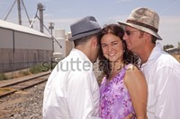 stock-photo-woman-with-two-men-representing-a-roma 13
