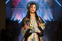 Karlie Kloss as Boy George, Jean Paul Gaultier Wom 5