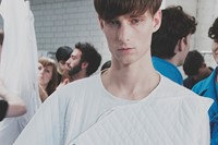 Craig Green SS15 Mens collections, Dazed backstage 13