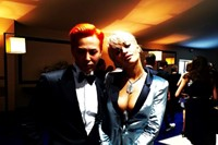 G-DRAGON AT PARIS FASHION WEEK 4