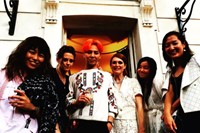 G-DRAGON AT PARIS FASHION WEEK 2