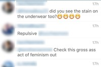 Ashley Armitage's Instagram comments 38