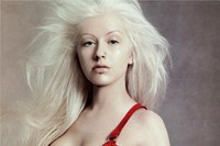 Best pop star fashion campaigns Christina Aguilera Versace 3