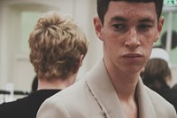 J.W. Anderson SS15 Mens collection, Dazed backstage 11