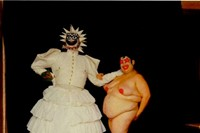 Leigh Bowery as 'Miss Fuckit' Miss Alternative World 1986 2