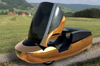 Urbee (2013), the world's first 3D printed car. Co