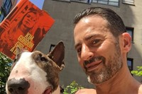 Marc Jacobs and his dog Neville 7