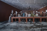 Thirteen People wearing Dior in a 'Last Supper' se 4