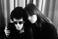 Lou Reed and Nico by Mick Rock, Blake's Hotel, London 5