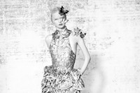 Dress and headpiece by Alexander McQueen 9