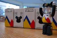 Wood Wood Bearbrick 1