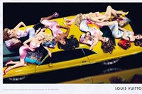 louis vuitton car richard prince campaign 1
