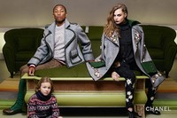 Best pop star fashion campaigns Chanel Pharrell Williams 2