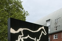 Julian Opie Galloping horse., 2012 LED double side 0