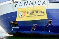 Shell Arctic Drilling Action in Helsinki 4