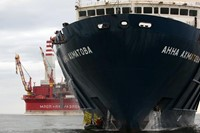 Action Against Gazprom's Arctic Drilling 7