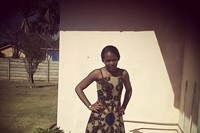 Michelle, Student in Canada from Harare wearing a 6
