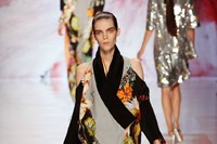 I loved this deconstructed kimono from Etro worn b 2