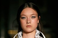 New face Yumi Lambert from IMG in the Pucci show 4