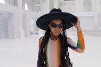 Rainbow Mugler, Blue Ivy Black Is King fashion looks 4
