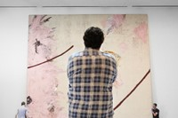 Photo of Julian Schnabel at the AGO by Ian Lefebvr 0