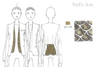 Exclusive design sketch: Altuzarra Womenswear SS13 2