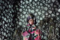 Clothing by Comme des Garçons AW12; headpiece by D 4