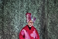 Clothing by Comme des Garçons AW12; headpiece by D 2