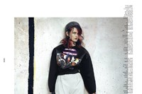 Dazed & Confused August 2012, 'She was a Skater Gi 13