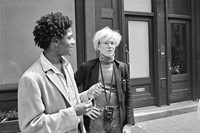 Warhol on Basquiat 4