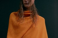 Marques'Almeida AW15 Womenswear Ribbed Orange Jumper 19