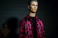 Dsquared2 SS15 Mens collections, Dazed backstage 0