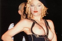 Madonna at the Jean Paul Gaultier, Dazed Digital 17