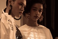 Backstage at Kenzo SS17 Womenswear PFW Dazed 9