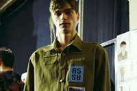 Raf Simons SS15 Mens collections, Dazed backstage 6