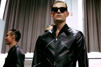 Emporio Armani SS15 Mens collections, Dazed backstage 7