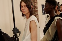 Rick Owens SS18 menswear paris show backstage 12