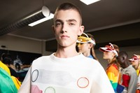 Backstage at Benetton SS20 13 12