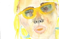 "Lena Dunham Watercolours ""Jem in Hollywood, Baby"" 2"
