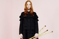 Simone Rocha X J Brand lookbook, Dazed 9