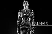 Balmain AW16 campaign Kim Kanye Wolves video 1