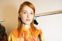Backstage at MSGM SS20 3 2