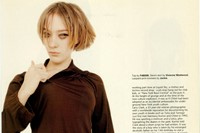 Who's that girl? Editorial, Dazed Chloë Sevigny 9