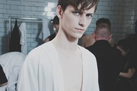 Craig Green SS15 Mens collections, Dazed backstage 0