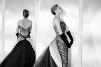 A model wears the Butterfly gown from 1954 6