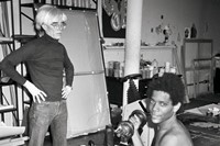 Warhol on Basquiat 0