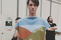 J.W. Anderson SS15 Mens collection, Dazed backstage 0